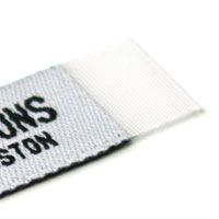Example 3. Woven label without taffeta